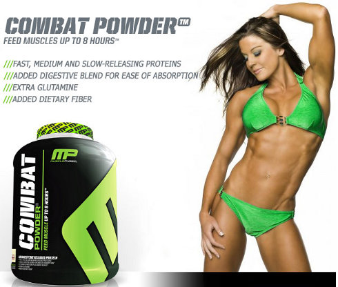 (MusclePharm) Combat Powder